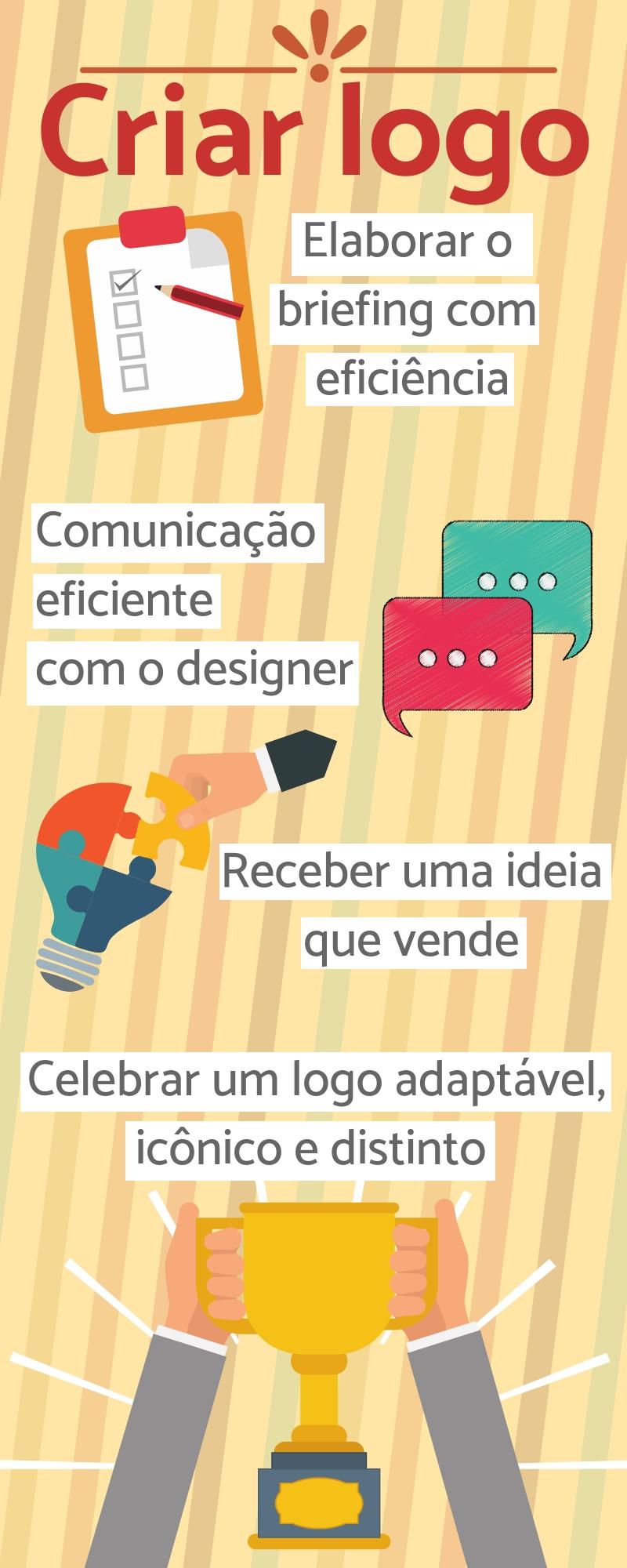 Criar logo infográfico