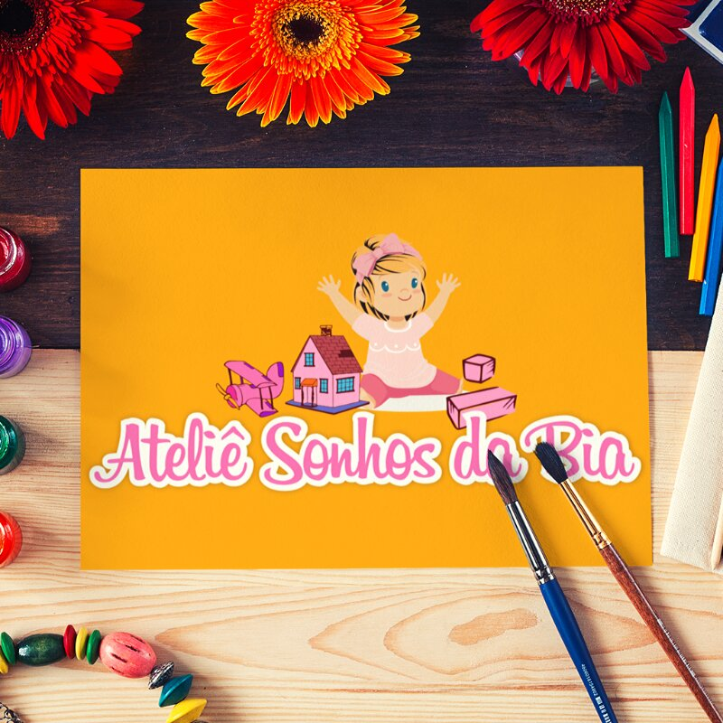 Logo para produtos artesanais